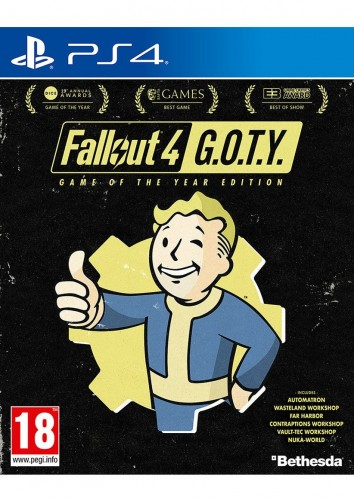 Fallout 4 - Game of the Year Edition (GOTY) on PS4