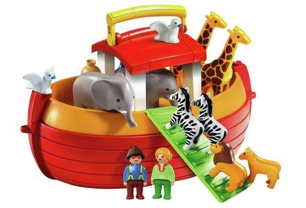 Playmobil 123 Noah's Ark Playset.