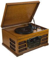 Wooden Retro Turntable
