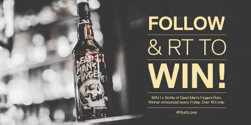 Win a bottle of Cornish Ron Rum