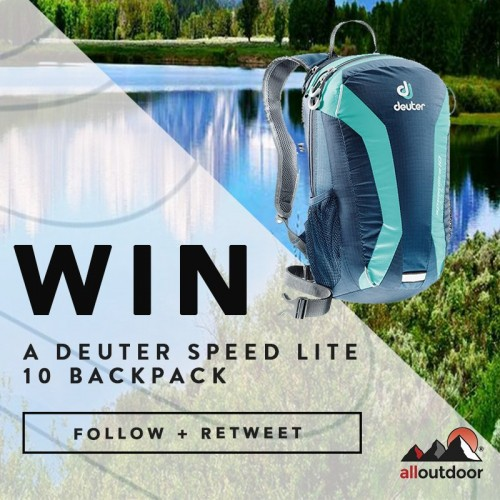 Win a Deuter Speed Lite Backpack