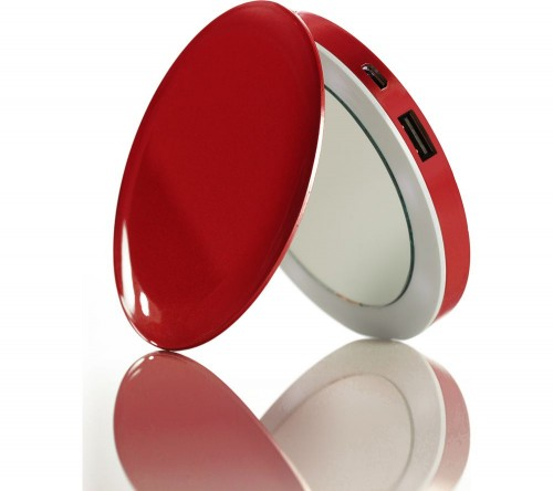 HYPER Pearl Make-Up Mirror 3K Portable Power Bank
