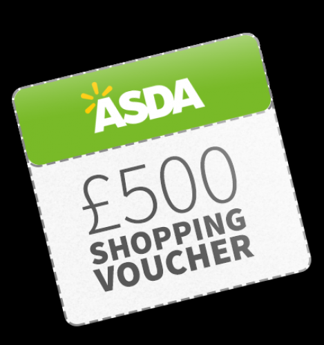 Win £500 Asda Vouchers