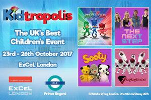 WIN one of six family tickets for Kidtropolis 2017