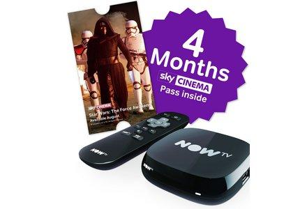 NOW TV Box with 4 Month Cinema Pass