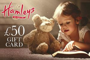 Win a £50 Hamleys Gift Card