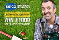 Win a £1000 Selco Gift Card
