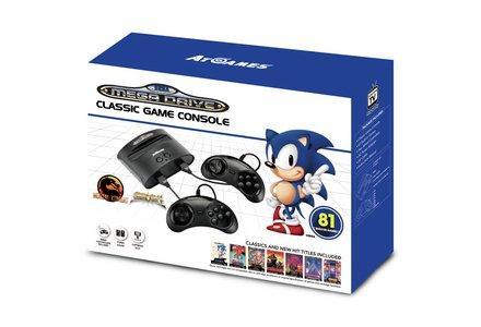 Sega Mega Drive With 81 Games